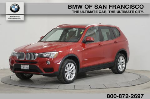 Certified Pre-Owned 2015 BMW X3 xDrive28d AWD