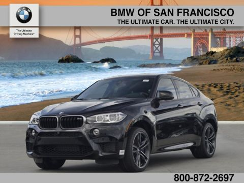 New 2017 BMW X6 M Base With Navigation & AWD