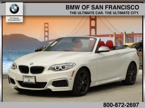 New 2017 BMW 2 Series M240i RWD Convertible
