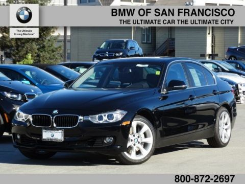 Certified Pre-Owned 2015 BMW 3 Series 335i RWD 4dr Car