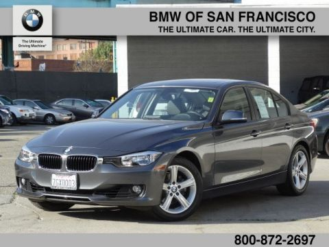 Certified Pre-Owned 2014 BMW 3 Series 328i RWD 4dr Car