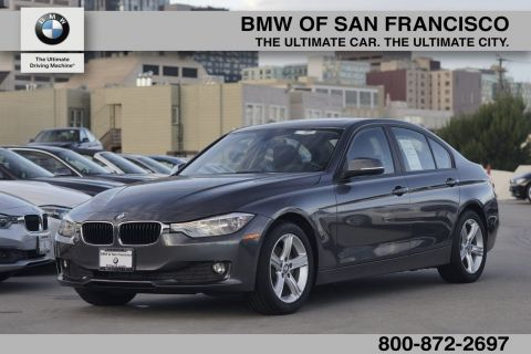 Certified Pre-Owned 2014 BMW 3 Series 328d RWD 4dr Car