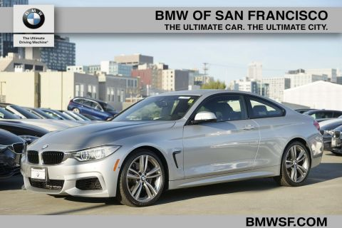 Certified Pre-Owned 2015 BMW 4 Series 435i RWD 2dr Car