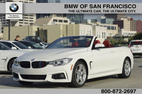 Certified Pre-Owned 2015 BMW 4 Series 435i RWD Convertible