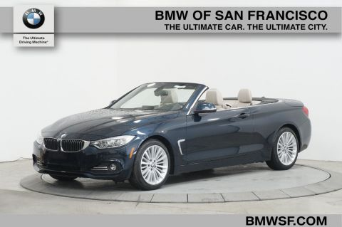 Pre-Owned 2015 BMW 4 Series 428i RWD Convertible