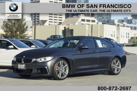 Certified Pre-Owned 2015 BMW 4 Series 435i RWD Hatchback