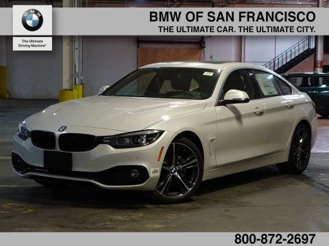 New 2018 BMW 4 Series 430i RWD Hatchback