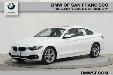 Pre-Owned 2018 BMW 4 Series 430i RWD Hatchback