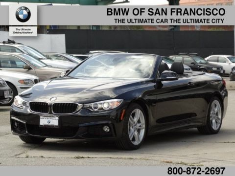 Certified Pre-Owned 2017 BMW 4 Series 440i RWD Convertible