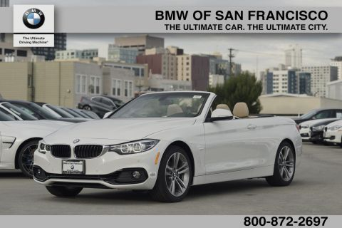 New 2018 BMW 4 Series 430i RWD Convertible