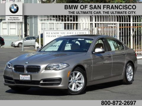 Certified Pre-Owned 2014 BMW 5 Series 528i With Navigation