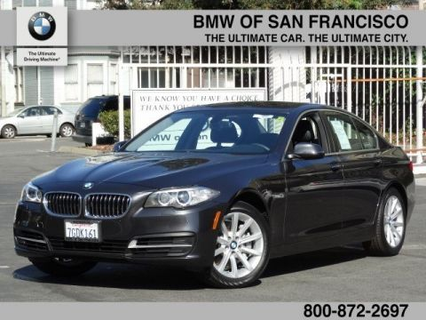 Certified Pre-Owned 2014 BMW 5 Series 535i With Navigation