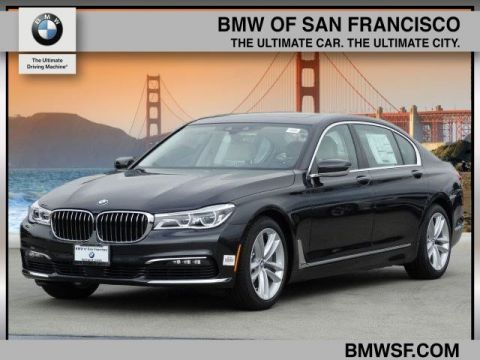 New 2018 BMW 7 Series 750i With Navigation
