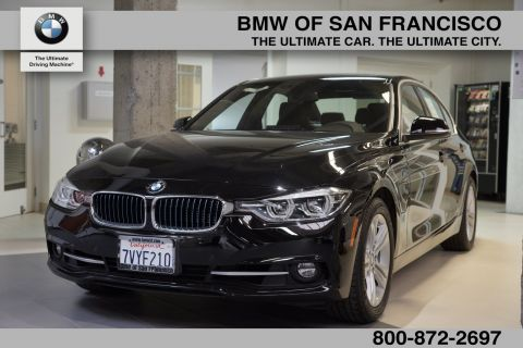 Certified Pre-Owned 2017 BMW 3 Series 330e iPerformance RWD 4dr Car