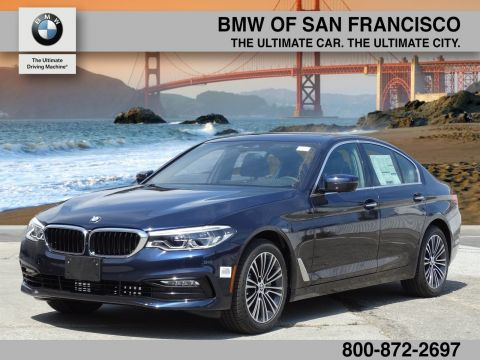 New 2017 BMW 5 Series 530i With Navigation