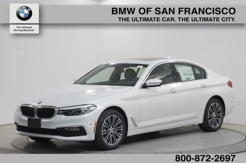 New 2018 BMW 5 Series 530i With Navigation
