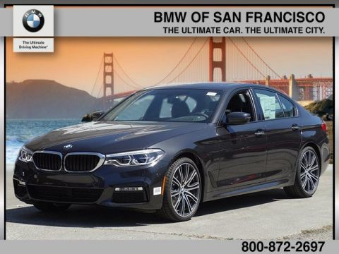 New 2017 BMW 5 Series 540i With Navigation