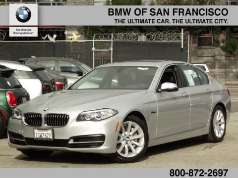Certified Pre-Owned 2014 BMW 5 Series 535d With Navigation