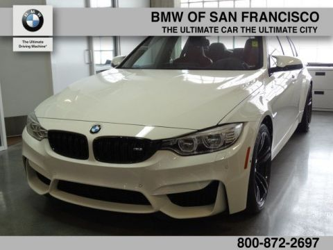 Pre-Owned 2017 BMW M3 4DR SDN With Navigation