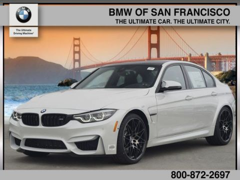 New 2018 BMW M3 Base With Navigation