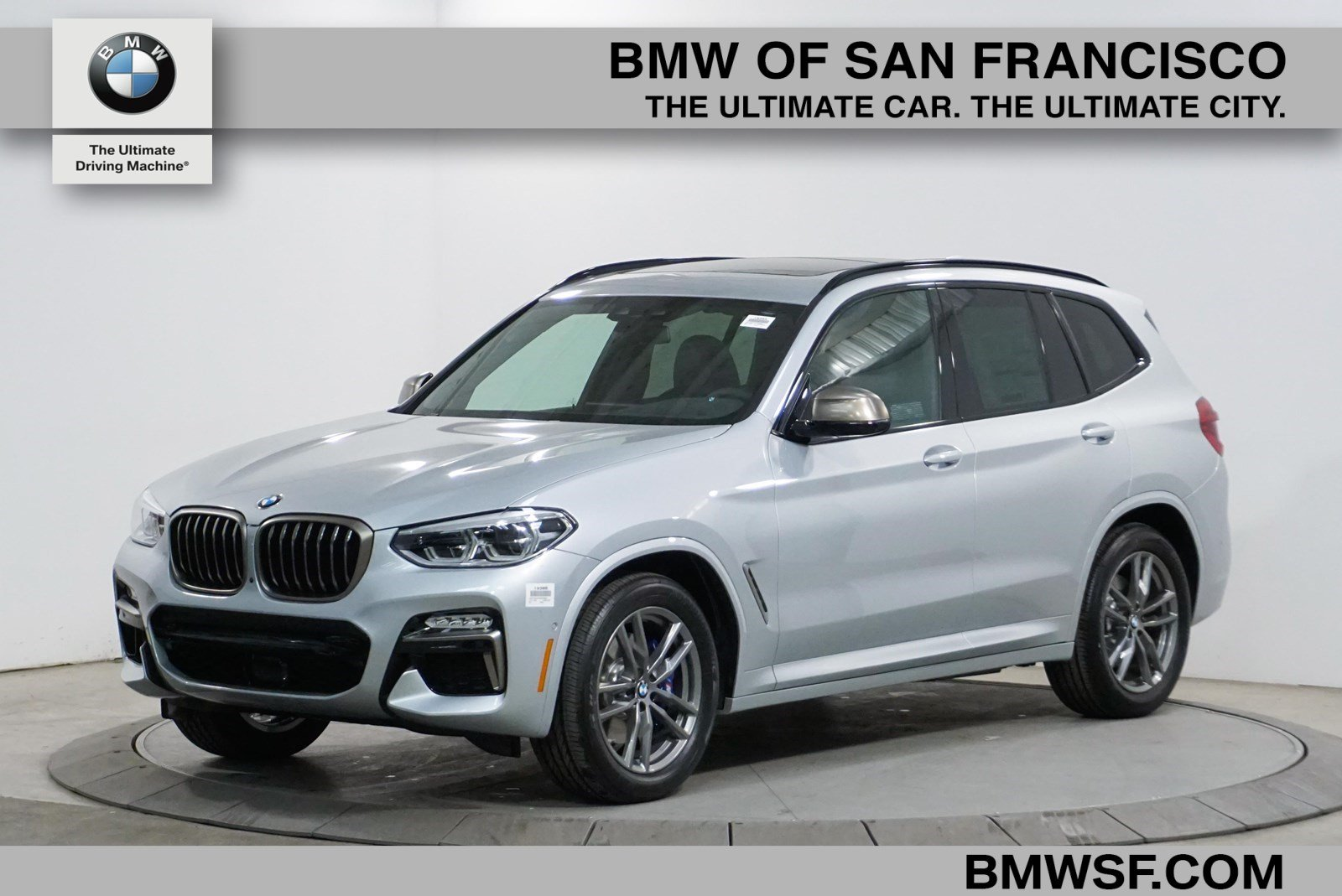 New 2019 Bmw X3 M40i Sport Utility In San Francisco 19365 Bmw Of