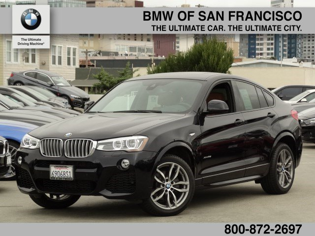 Certified Pre-Owned 2015 BMW X4 xDrive35i