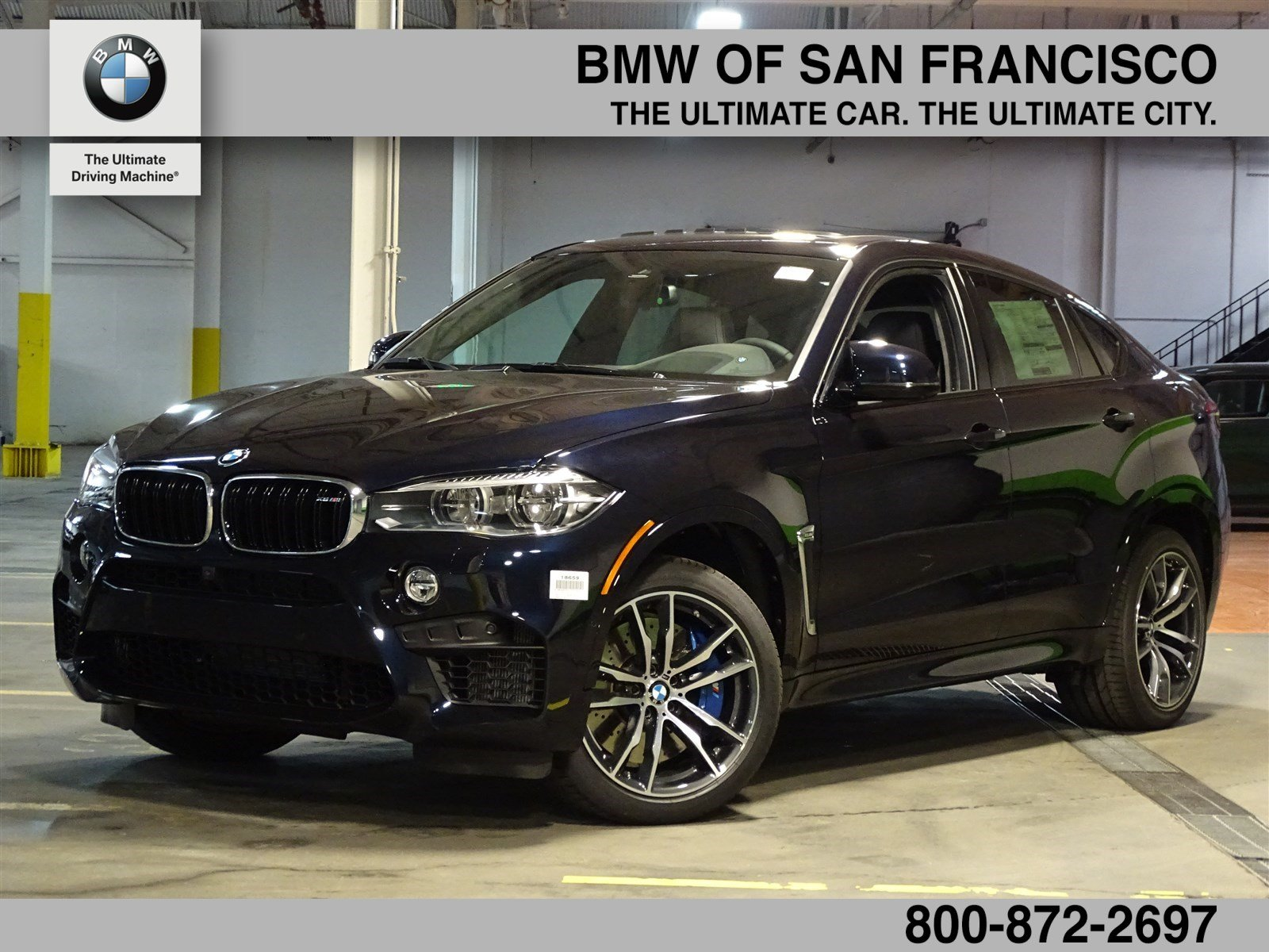 Bmw X3 2018 Pricing >> New 2018 BMW X6 M Base Sport Utility in San Francisco #18659 | BMW of San Francisco
