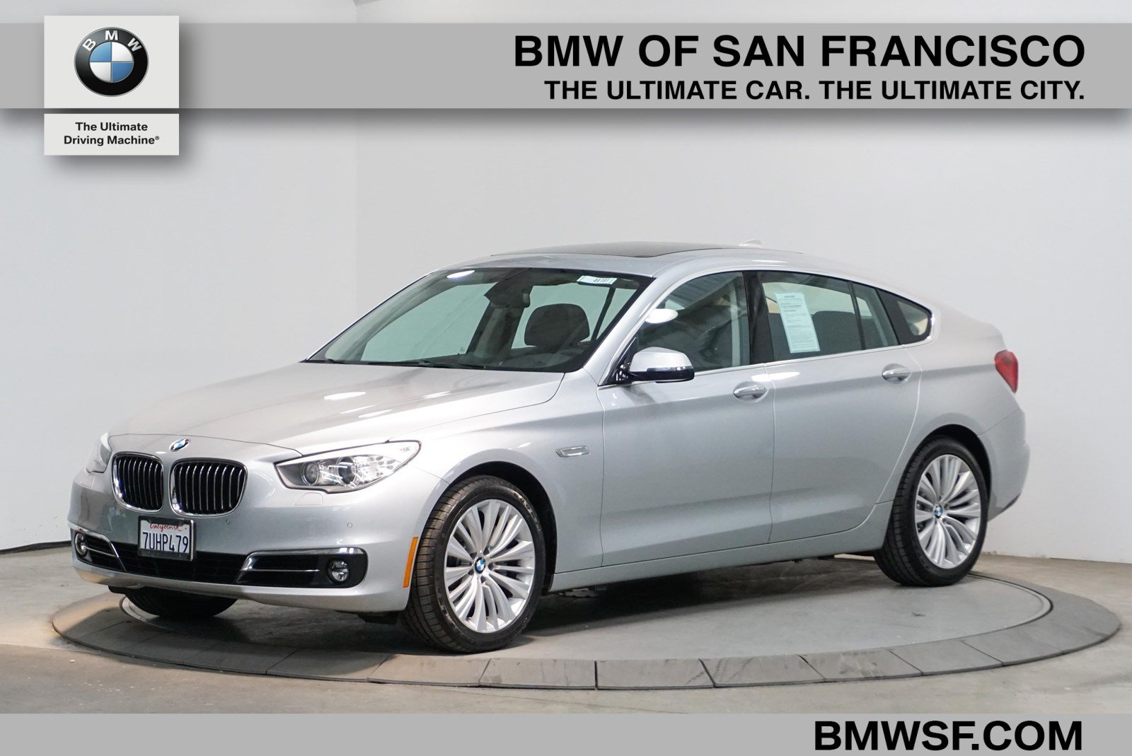 Pre-Owned 2016 BMW 5 Series Gran Turismo 535i