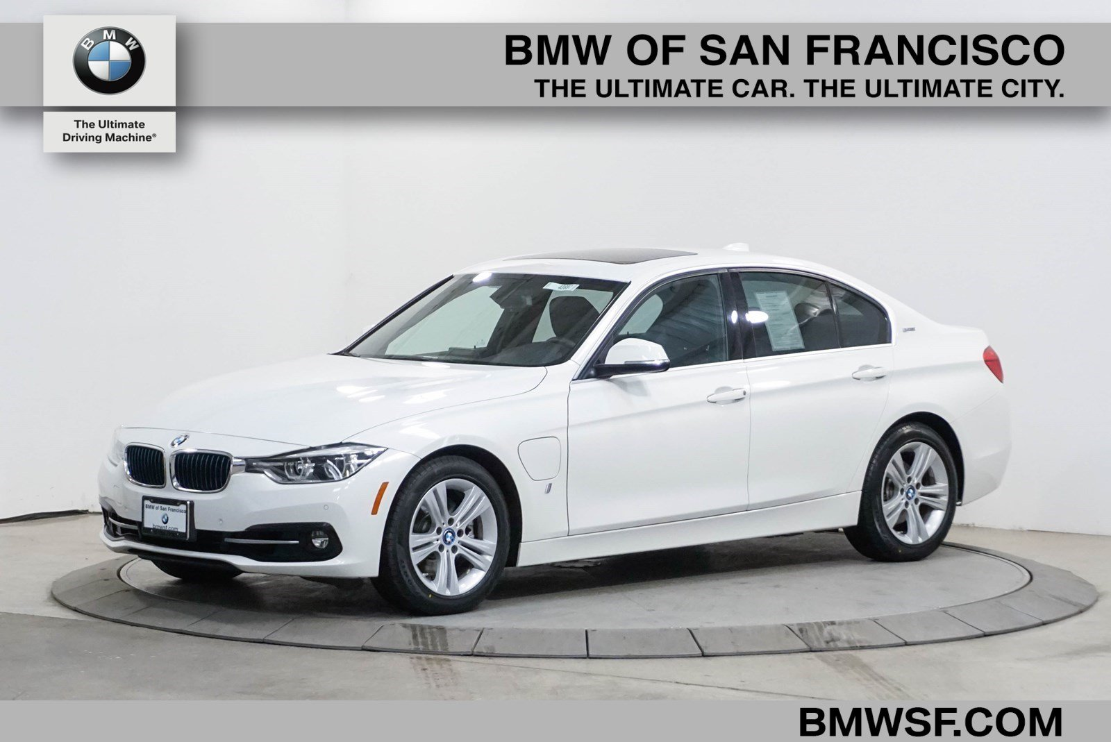 Certified Pre Owned 2017 Bmw 3 Series 330e Iperformance