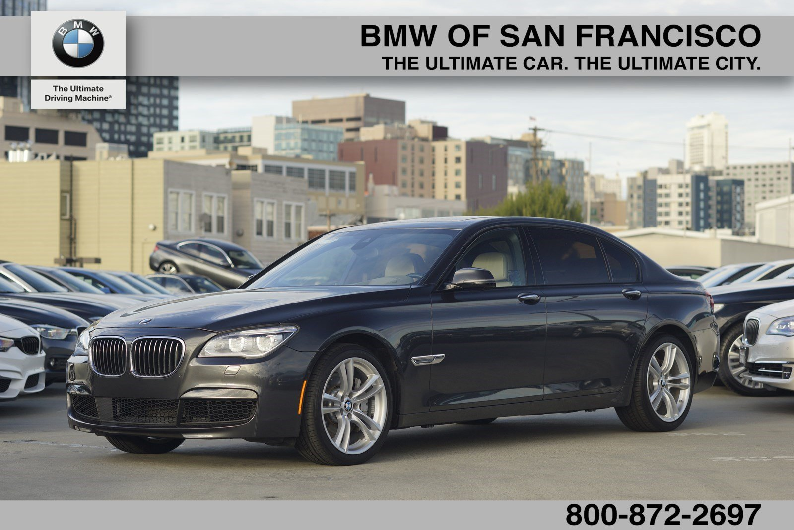 certified pre-owned 2015 bmw 7 series 750li 4dr car in san