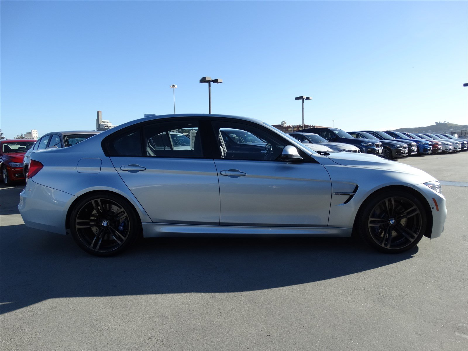 Pre-Owned 2015 BMW M3 4DR SDN