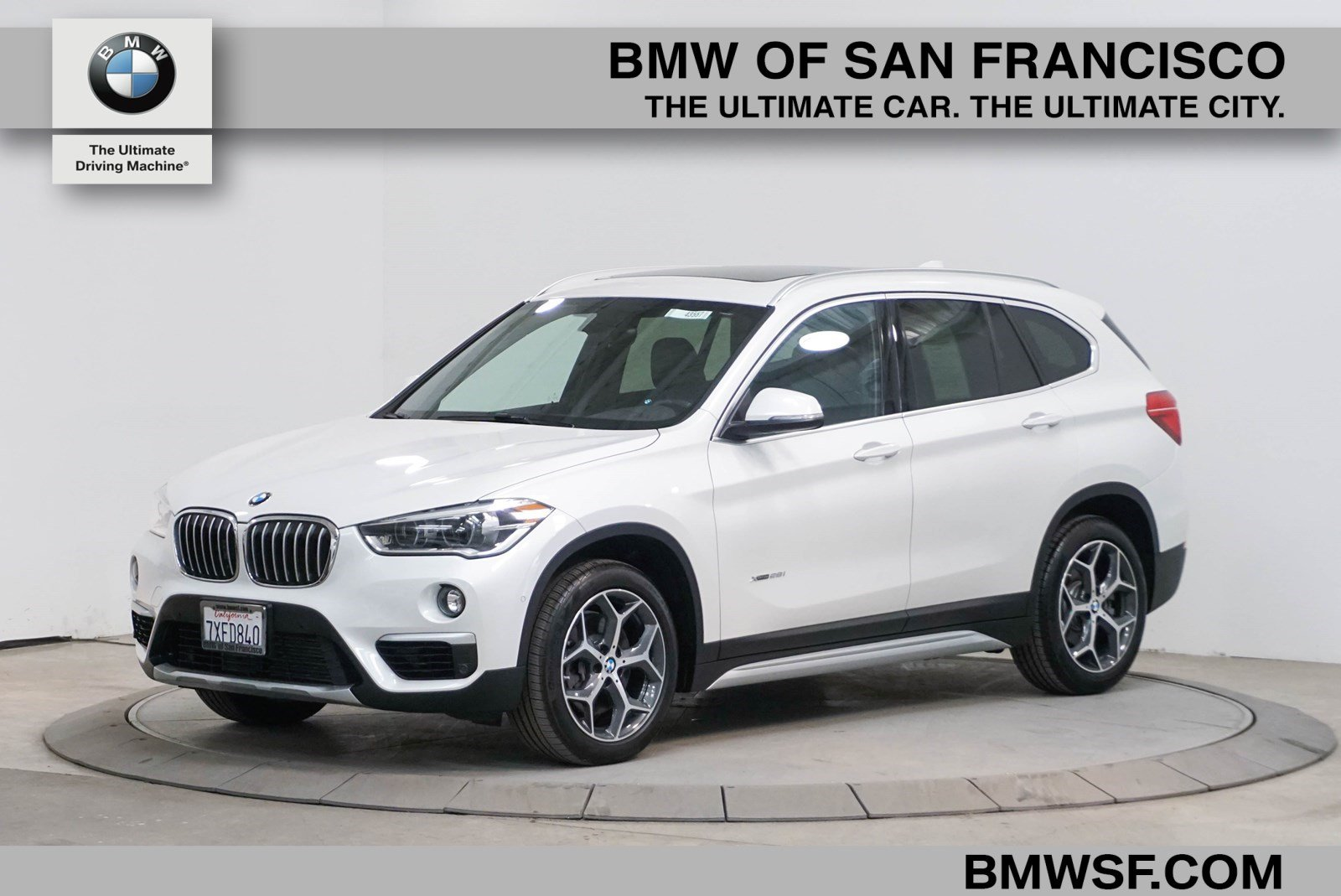 Certified Pre Owned 2017 Bmw X1 Xdrive28i