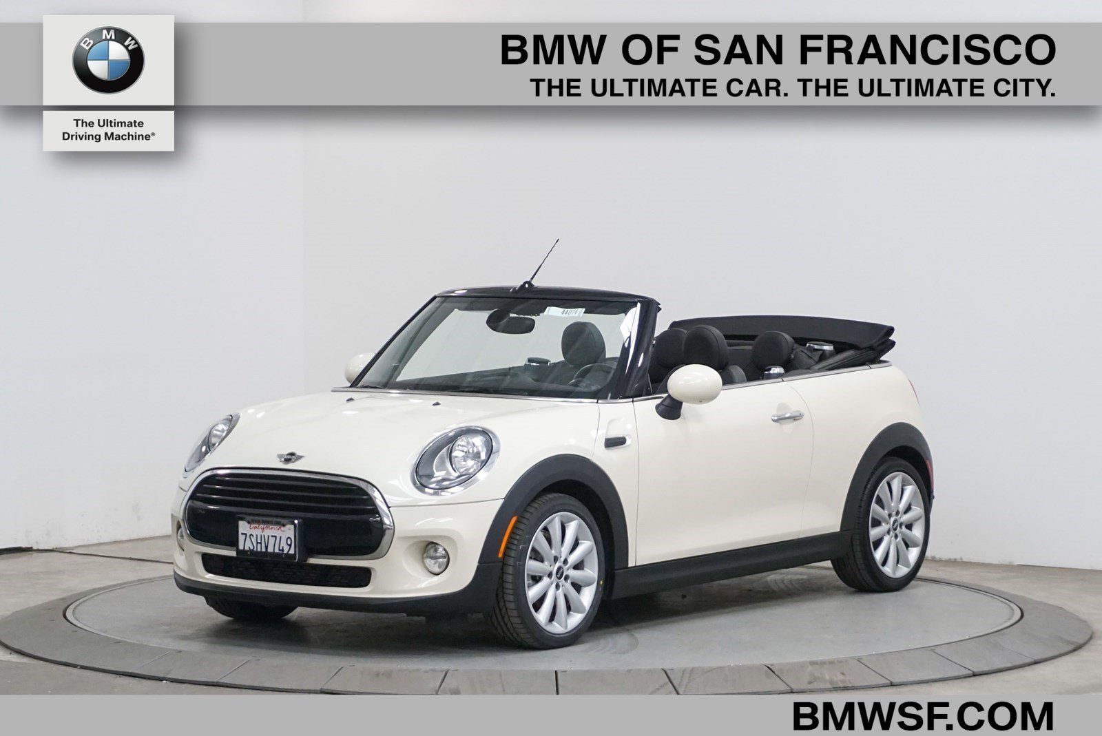 Pre-Owned 2016 MINI Cooper Convertible 2DR CONV