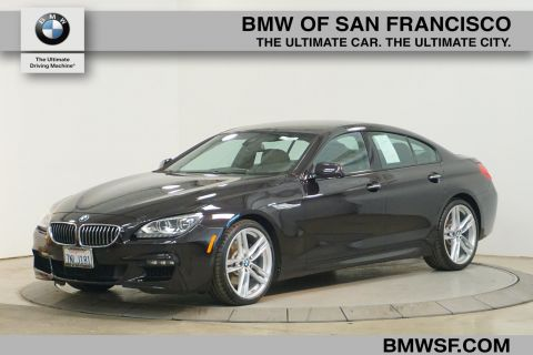 Certified Pre-Owned 2015 BMW 6 Series 640i