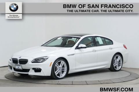 Certified Pre-Owned 2016 BMW 6 Series 640i