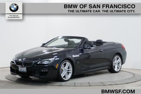 Certified Pre-Owned 2017 BMW 6 Series 640i