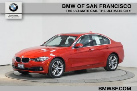 Certified Pre-Owned 2017 BMW 3 Series 330i