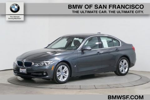Certified Pre-Owned 2017 BMW 3 Series 330e iPerformance