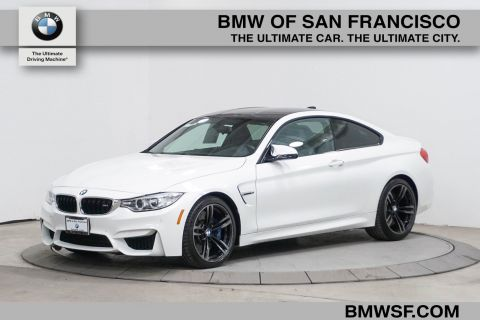 Pre-Owned 2016 BMW M4 2DR CPE