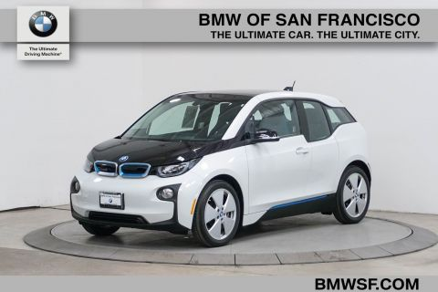 Certified Pre-Owned 2018 BMW i3 4DR HB 94 with RNG ERANGE EXTENDER